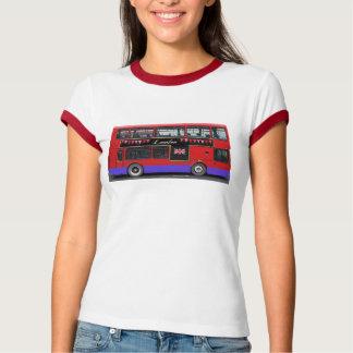 Red London Bus Double Decker T-Shirt