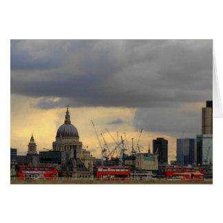 Red London Buses Card