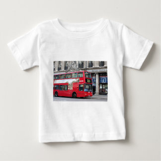 Red London Double Decker Bus, England Baby T-Shirt