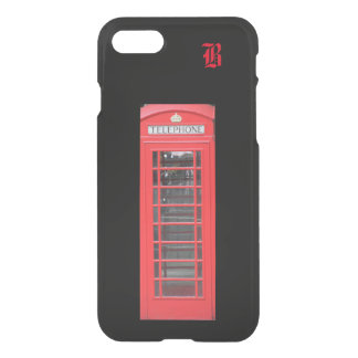 Red London Telephone Booth on Iphone Case