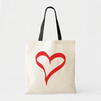 Red Love Heart - Wedding Bridal Shower