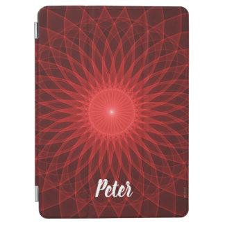 Red Mandala iPad Air Cover
