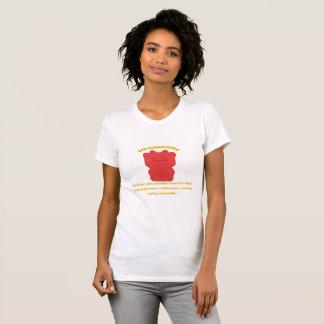 Red Maneki Neko Both Paws NEW T-Shirt