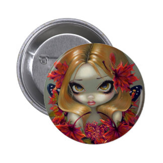 """Red Maple Fairy"" Button"