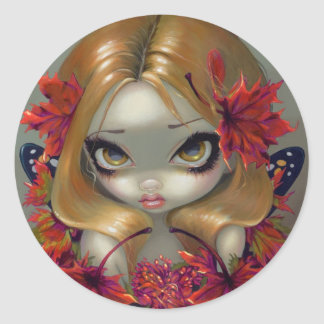 """Red Maple Fairy"" Sticker"