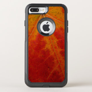 Red Maple Leaf Abstract Autumn Nature Photography OtterBox Commuter iPhone 8 Plus/7 Plus Case