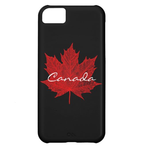 Red Maple Leaf- Canada Cover For iPhone 5C