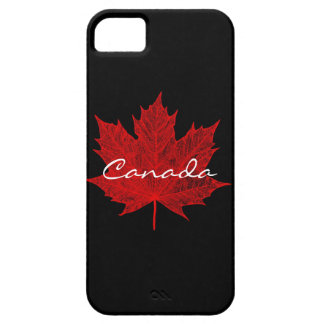 Red Maple Leaf- Canada iPhone 5 Cases