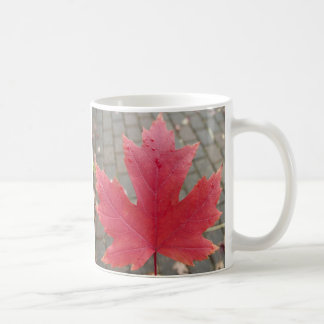 Red Maple Leaf Coffee Mug