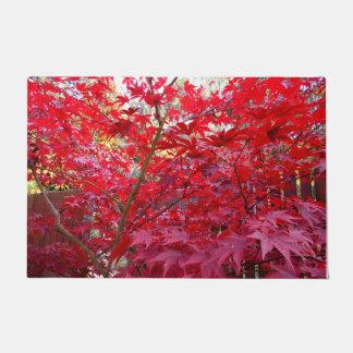 Red Maple Tree Doormat