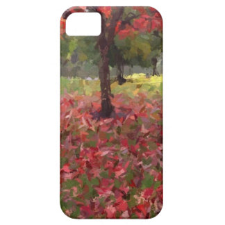 Red Maple Tree Photography Case For The iPhone 5