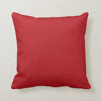 Red Marble Decorative Designer Throw Lumbar Pillow