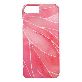 Red Marble Watercolour Break Case-Mate iPhone Case