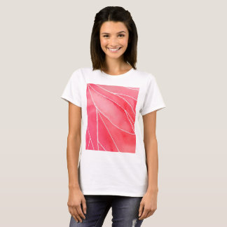 Red Marble Watercolour Break T-Shirt