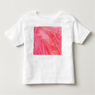 Red Marble Watercolour Break Toddler T-shirt