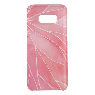 Red Marble Watercolour Break Uncommon Samsung Galaxy S8 Plus Case