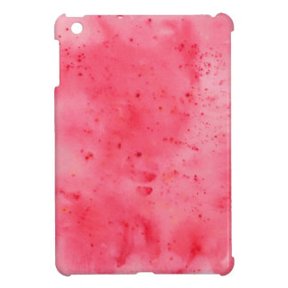 Red Marble Watercolour iPad Mini Cover