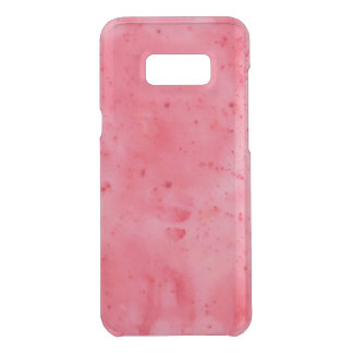 Red Marble Watercolour Uncommon Samsung Galaxy S8 Plus Case