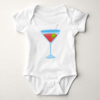 Red Martini Baby Bodysuit