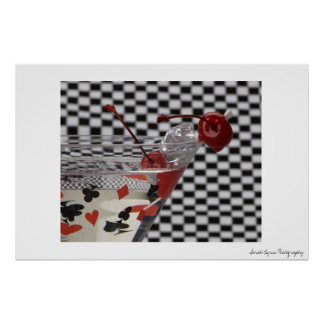 Red Martini Poster