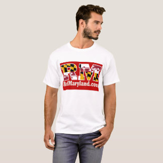 Red Maryland 2018 Logo T-Shirt