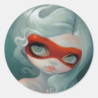 """Red Mask"" Sticker"