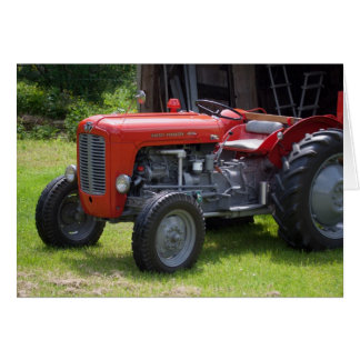 Red Massey Ferguson 35X Card