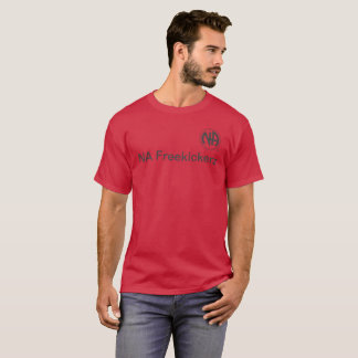 red Mens small t shirt (NA Freekickerz)