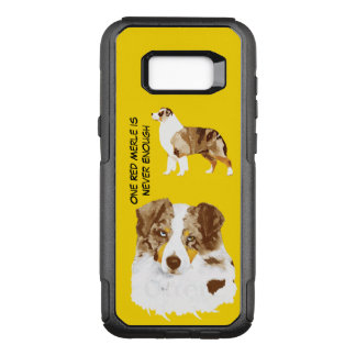 Red Merle Aussie, Commuter Never Enough OtterBox Commuter Samsung Galaxy S8+ Case