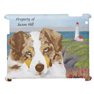 Red Merle Australian Shepherd Dog, Lighthouse Case For The iPad 2 3 4