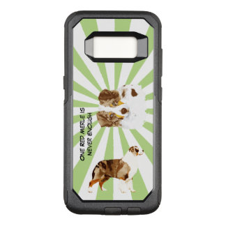 Red Merle Australian Shepherd, Starburst Commuter OtterBox Commuter Samsung Galaxy S8 Case