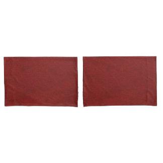 Red Merlot look pillow cases Pillowcase