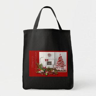 Red Merry Christmas Bag