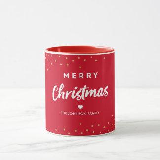 RED | Merry Christmas Mug