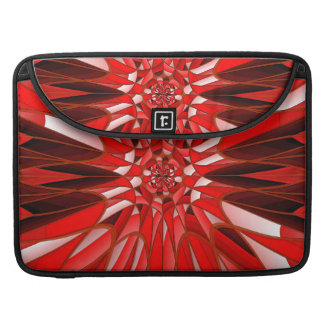 Red mineral MacBook pro sleeve