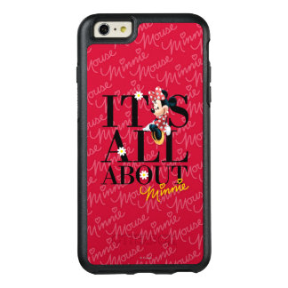 Red Minnie | All About Me OtterBox iPhone 6/6s Plus Case