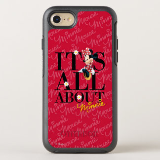 Red Minnie | All About Me OtterBox Symmetry iPhone 7 Case