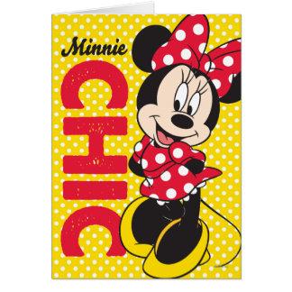 Red Minnie   Chic Card