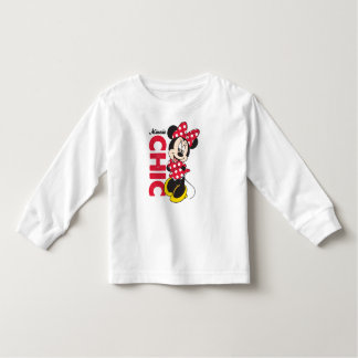 Red Minnie | Chic Toddler T-shirt