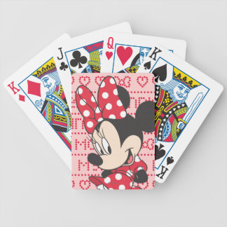 Red Minnie | Cute Bicycle Playing Cards
