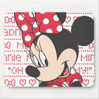 Red Minnie | Cute Mouse Pad