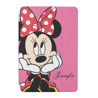 Red Minnie | Head in Hands iPad Mini Cover