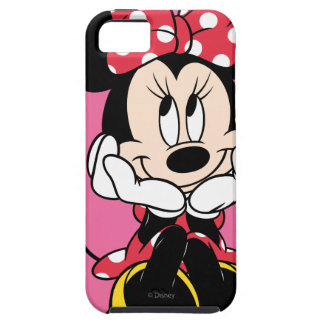 Red Minnie | Head in Hands iPhone 5 Covers