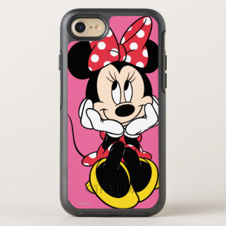 Red Minnie | Head in Hands OtterBox Symmetry iPhone 7 Case