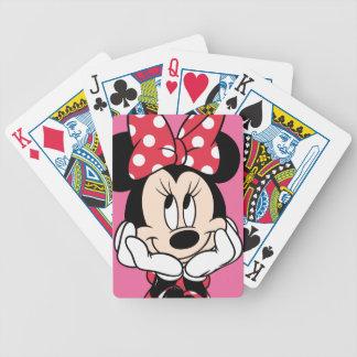 Red Minnie | Head in Hands Poker Deck