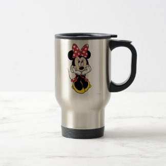 Red Minnie | Head in Hands Travel Mug