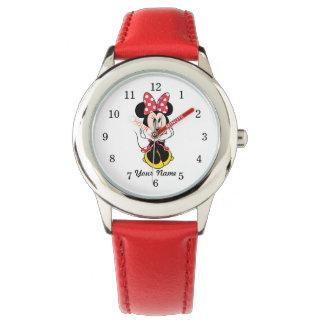 Red Minnie | Head in Hands Watches