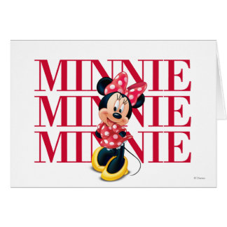 Red Minnie | Name Card