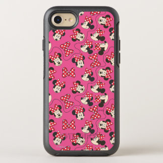 Red Minnie | Pink Pattern OtterBox Symmetry iPhone 7 Case