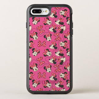 Red Minnie   Pink Pattern OtterBox Symmetry iPhone 7 Plus Case